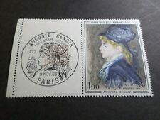 FRANCE 1968, timbre 1570, TABLEAU RENOIR bande FDC 1° JOUR, neuf**, MNH
