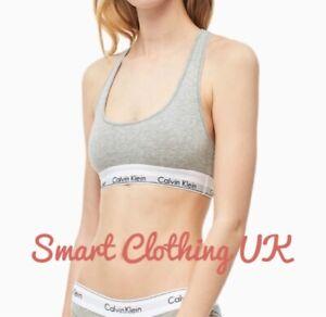 Calvin Klein Bralette Modern Cotton         (Grey Heather)  RRP £30