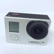 Refurbished GoPro HERO 3+ Plus Silver 1080P 10MP HD Sport Camera Wi-Fi 100% work