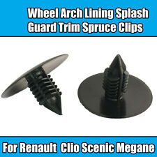 10x Clips For Renault Megane Clio Scenic Wheel Arch Lining Slash Guard Spruce