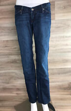 Habitual Women's Maternity Jeans Size 1 4/6 Small Denim Straight