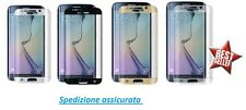 Pellicola in Vetro Temperato Curvo 100% per Samsung Galaxy S6 Edge PLUS +
