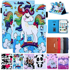 For 7 8 10 INCH Universal Tablet Luxury Leather Flip Case Wallet Pattern Cover