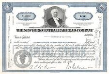New York Central Railroad Company 100 Share 1956 (Trés rare)