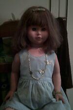 bambola gigante EFFE varietà capelli rossi  con  difetti leggi  87cm