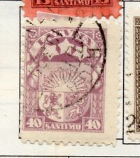 Latvia 1923 Early Issue Fine Used 40s. 182342