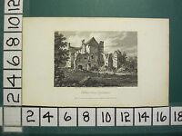1808 Datato Antico Stampa ~ Holton Casa Oxfordshire ~ Contenitore