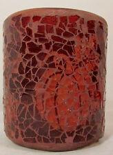 Yankee Candle votive holder Pumpkin Mosaic brown 1313258