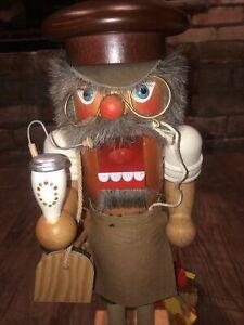 Vintage Holzkunst Christian Ulbricht King Nutcracker, Toymaker