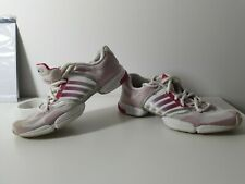 ADIDAS CLIMA COOL WHITE AND PINK CASUAL SHOE SIZE UK 5