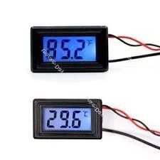 Digital Thermometer Temperature Meter Fahrenheit Centigrade -58~230F 12v 24v car
