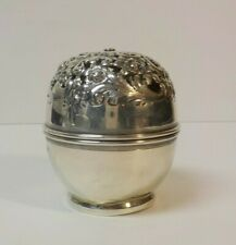 Antique MAUSER Sterling Silver Reticulated String Holder