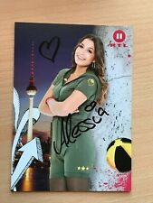 Autogrammkarte - ALESSIA - BERLIN TAG & NACHT - orig. signiert #443