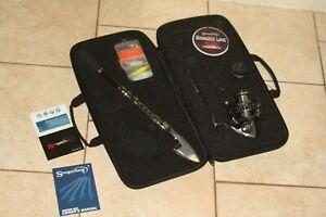 NEW Sougayilang Telescopic Fishing Rod Reel Combo - w/ Zippered carry case
