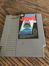 Jaws Original Nintendo NES Cart Works.NE1