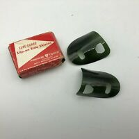 AO American Optical Green Slip On Side Shields Sure Guard For Safety Glasses C8
