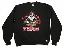 MIKE TYSON RUSSELL ATHLETIC RARE VINTAGE SWEATSHIRT BROOKLYN IRON MIKE BOXING L
