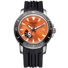 JIUSKO Deep Sea Men's Automatic Titanium 300m Silicone Dive Watch 75LSB1202