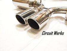 Circuit Werks Porsche Boxster & Cayman 987 Catback Exhaust 2nd Cat Bypass 987.1