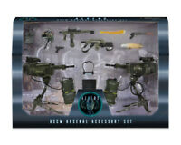 "Aliens 30th Anniversary USCM ARSENAL Accessory Set 7"" Scale Figure Marines NECA"