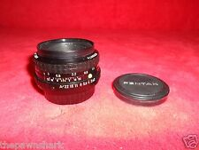 SMC Pentax-A 1:2 50mm  Lens in Very Good Shape for 35mm Camera