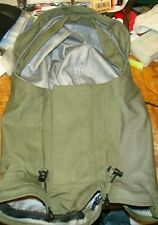 typhoon gore-tex immersion suit olive green optional detachable hood excellent