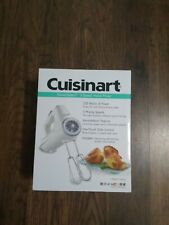 Cuisinart CHM-3 PowerSelect 3-Speed Hand Mixer White New in Box