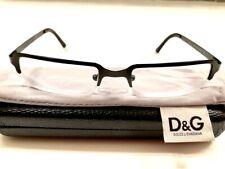 Dolce & Gabbana DG 370 BR Rectangular Eyeglasses Frames 48 19 140