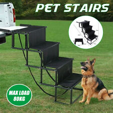 More details for lightweight foldable ramp folding outdoor pet dog car boot acces step ladder