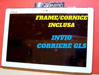 DISPLAY+ TOUCH SCREEN COVER PER ASUS ZENPAD 10 Z300M BIANCO P00C P023 P01T FRAME