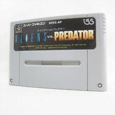 Super Famicom ALIENS vs. PREDATOR Nintendo Video Game Cartridge Only sfc
