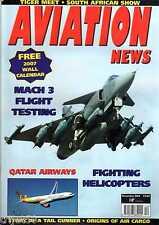 Aviation News 2006 December Qatar Airways,Tiger Meet,SR71 Blackbird,Neptune