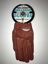 Odyssey BMX Mike Aitken Hellbent gloves brown leather Size S