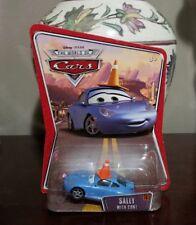 Disney Pixar Cars World of cars Sally With Cone Rare