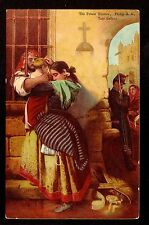 c1906 Tate Gallery art by John Philip mother & child The Prison Window postcard