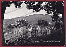 VITERBO SORIANO NEL CIMINO 01 Cartolina FOTOGRAFICA viaggiata 1958