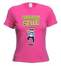 Estilo Gangnam para Mujer T-Shirt-Oppa Psy-opción de 10 Colores-Envío Gratis