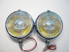 MARCHAL 670/680 FOG LIGHTS (2) (NEW)(AMBER BULBS)
