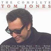 The Complete Tom Jones NEW CD