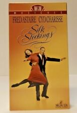 Silk Stockings VHS (1991) MGM Musicals Fred Astaire Cyd Charisse 1957 Color NR