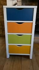 Colourful children's drawers