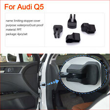 4 Pcs Car Door Arm Rust waterproof Stopper Buckle Protection Cover For Audi Q5