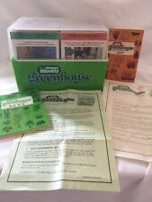 RARE WOMENS WEEKLY GREENHOUSE GARDENING LIBRARY CARDS COMPLETE IN BOX