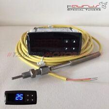 Strumento manometro EGT temperatura gas scarico sonda k digitale Blu termocoppia