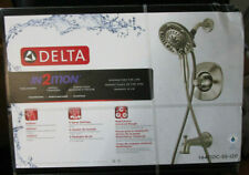 Delta BRUSHED NICKEL 1-Handle Shower Faucet Multi-Function 144710C-SS-120