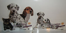 NINTENDOGS: DALMATIONS Nintendo STORE PROMO Window/Wall DISPLAY Sticker Set