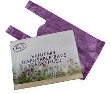 Sanitary Disposable Bags Fragranced & Hygiene Feminine Care 50 Bags In Box