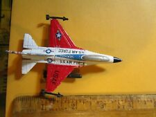 F-16 Viper Fighting Falcon USAF A144 diecast jet plane airplane toy vintage~