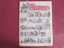 ZORRO N°248 11 MARS 1951 ERIK PELLOS OULIE CLARENCE GRAY SAINT OGAN BON ETAT