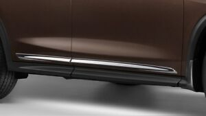 New OEM Infiniti QX50 Chrome Body Side Trim Molding Side 2019